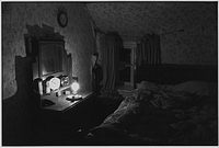 Wilfie Spiers's bedroom, Mount Pleasant, Beamsworthy, Beaworthy, Devon, England, 1984